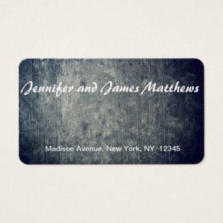 fundo real cartão de visitas