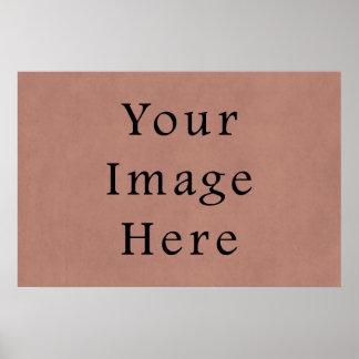 Fundo rosa vermelha do papel de pergaminho do pêss poster