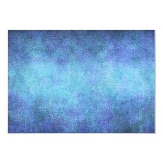 Fundo roxo azul colorido do papel da aguarela convite 8.89 x 12.7cm