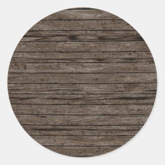 Fundos de madeira resistidos. A madeira Textures o Adesivo