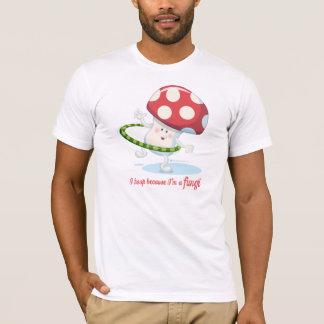Fungos: As camisetas dos homens
