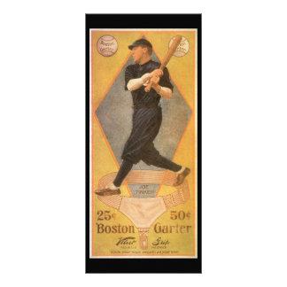 Funileiro de Joe do cartão de basebol da arte da e Planfetos Informativos Coloridos