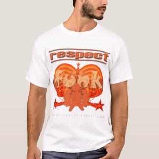 Funk do respeito camiseta