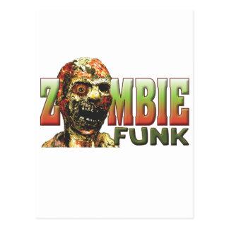 Funk do zombi cartões postais