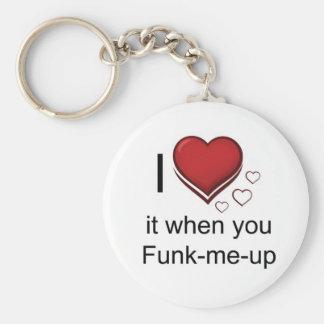 funk mim acima da corrente chave chaveiro