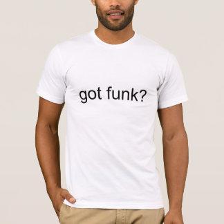 funk obtido? camiseta