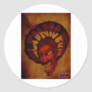 Funk soulsonic do tribo Zulu Adesivo