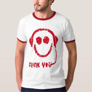 Funk você (branco/vermelho) t-shirt