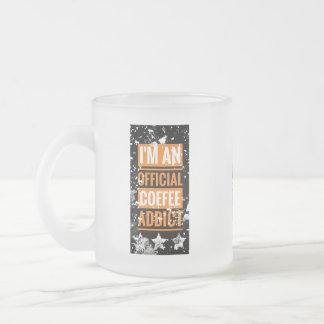 Funky eu sou uma caneca oficial do viciado do café