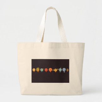 Funny planet bolsas para compras