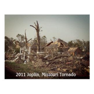 Furacão 2011 de Joplin no cartão de Missouri