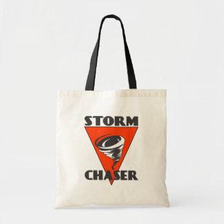 Furacão do caçador da tempestade e triângulo bolsa tote