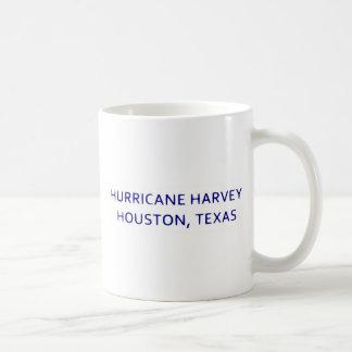 Furacão Harvey caneca de Houston, Texas