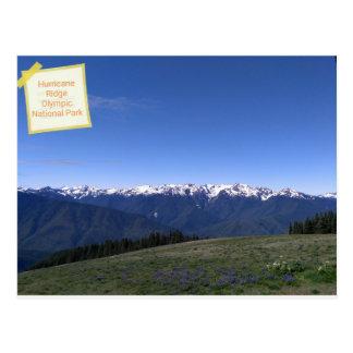 Furacão Ridge no cartão olímpico do parque