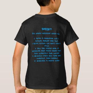 Furado para actuar t-shirt dos T-Contos Camiseta