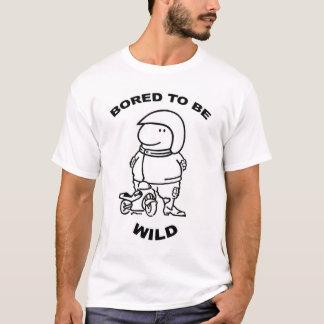 Furado para ser selvagem camiseta