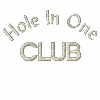 Furo em direitos de vanglória de um golfe do clube camiseta bordada polo