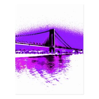 Fuschia reduz o cartão da ponte