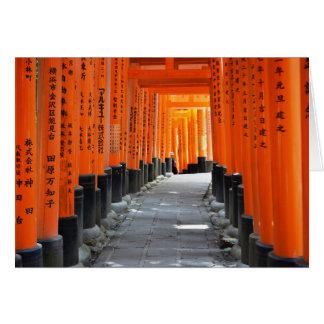 Fushimi Inari Cartão