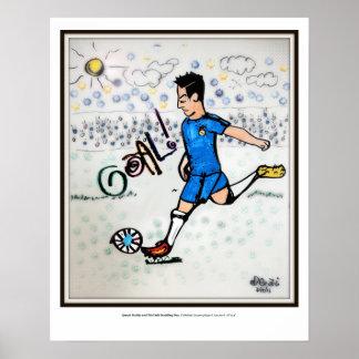 Futbolista (jogador de futebol) pôster
