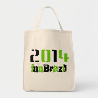 Futebol 2014 sacola tote de mercado