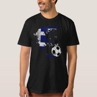 Futebol afligido da piscina camiseta