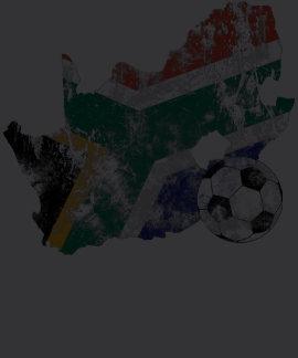 Futebol afligido de África do Sul Tshirt