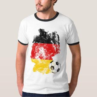 Futebol afligido de Alemanha Camiseta