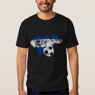 Futebol afligido de Honduras T-shirts