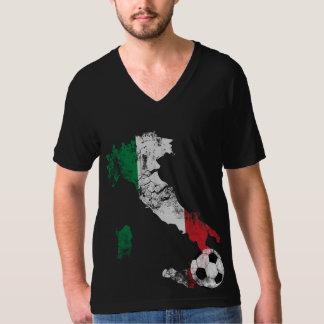 Futebol afligido de Italia Tshirts