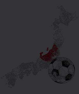 Futebol afligido de Japão T-shirts