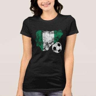 Futebol afligido de Nigéria Tshirt