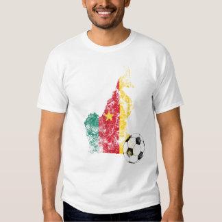Futebol afligido de República dos Camarões Camisetas