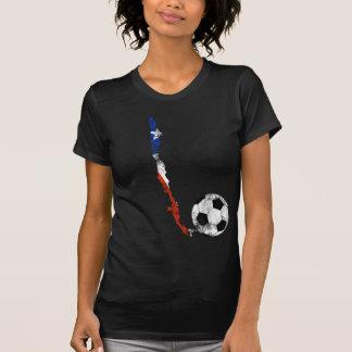 Futebol afligido do Chile T-shirts