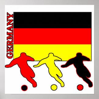 Futebol Alemanha Pôster