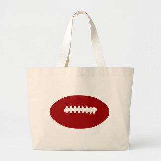 Futebol americano sacola tote jumbo