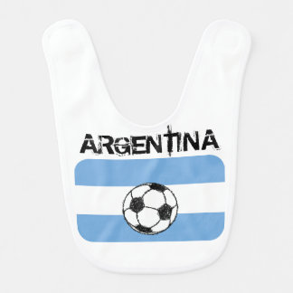 Futebol, Argentina Babadores Infantis