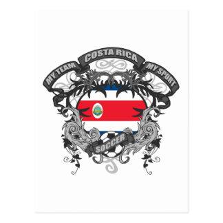 Futebol Costa Rica Cartão Postal