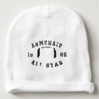 Futebol de All Star da poltrona Gorro Para Bebê