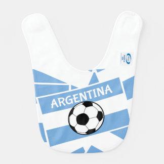 Futebol de Argentina Babadores Para Bebes