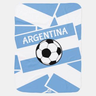 Futebol de Argentina Cobertor Para Bebe