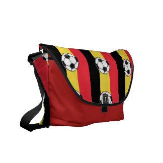 Futebol de Bélgica Bolsa Mensageiro