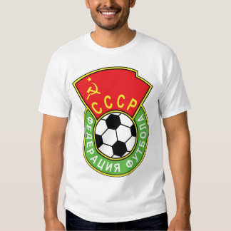 Futebol de CCCP T-shirt