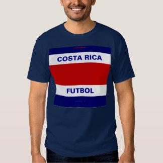 FUTEBOL DE COSTA RICA T-SHIRT