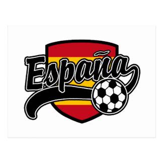 Futebol de Espana Cartão Postal