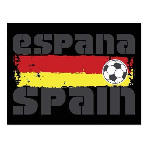 Futebol de Espana Cartoes Postais
