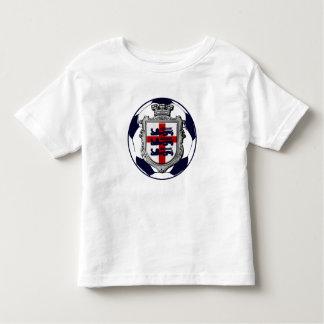 Futebol de Inglaterra - bandeira 2014 de Brasil Camisetas