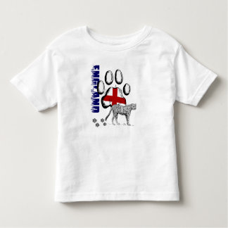Futebol de Inglaterra - bandeira 2014 de Brasil T-shirts