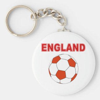 futebol de Inglaterra Chaveiro