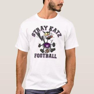 Futebol disperso de Katz T-shirts